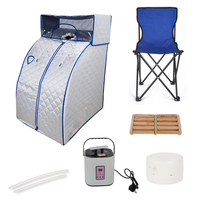 Mayitr Portable Therapeutic Steam Sauna Bath Tent SPA Slimming Healthy Head Cover Massage Relaxation Tool