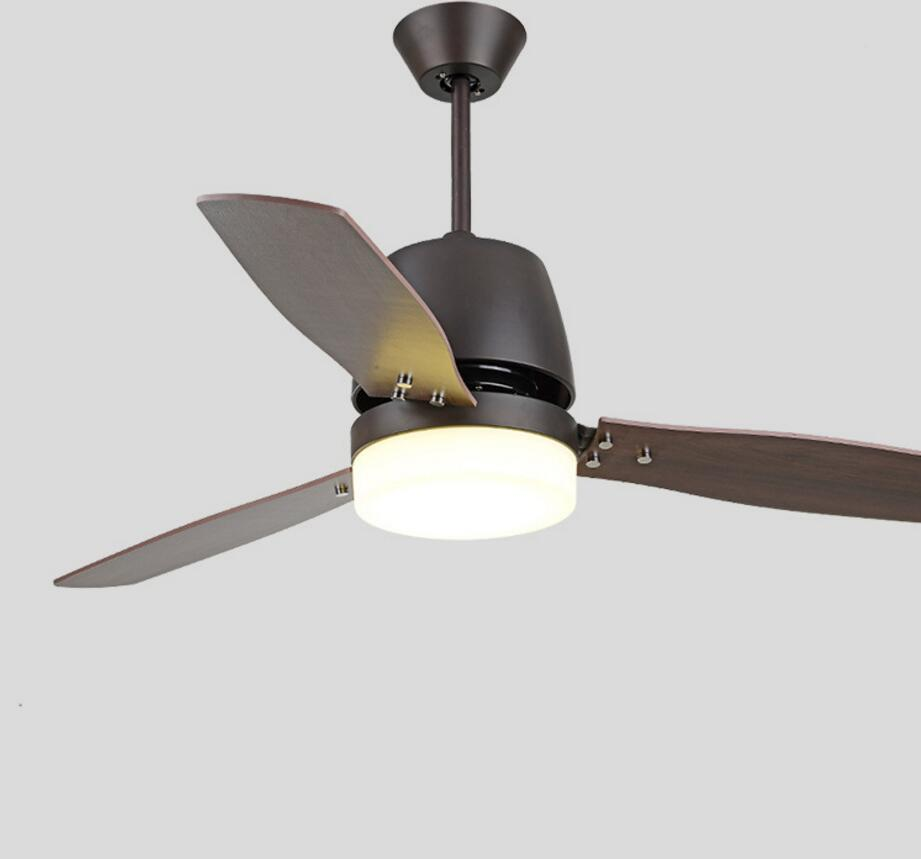 Led Ceiling Fan With Lights Remote Control 110 220 Volt