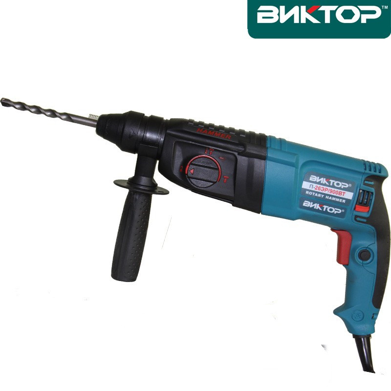 220V 900W Pure copper mot 3 Functions Electric Rotary Hammer with BOX and 5pcs Accessories Drills