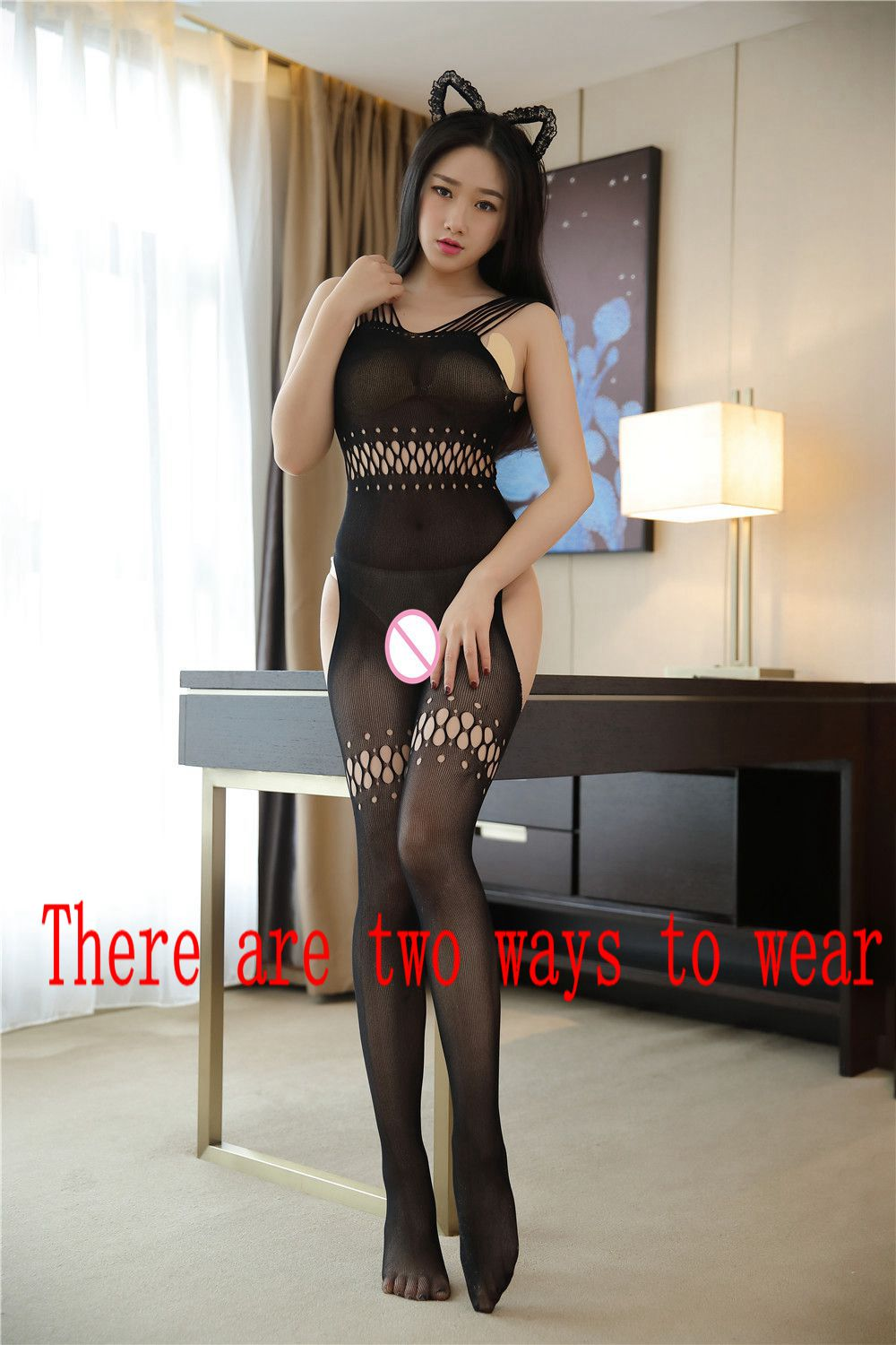 2018 Robe Sexy Lingerie For Women Plus Size Hot Erotic Underwear Babydoll Fishnet Sexy Body Stockings Sex Costumes Lenceria