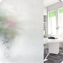 Perspectiva del medio ambiente Rejillas Transparente Película de la Ventana Privacidad Decorativo Frosted Glass Window Film Pegatinas Película Opaca