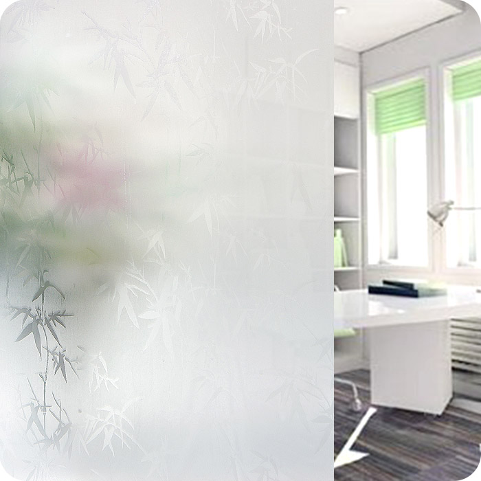 Environmental Perspective Grilles Translucent Frosted Glass Film Window Stickers Privacy Window Film Decorative Film Opaque ...