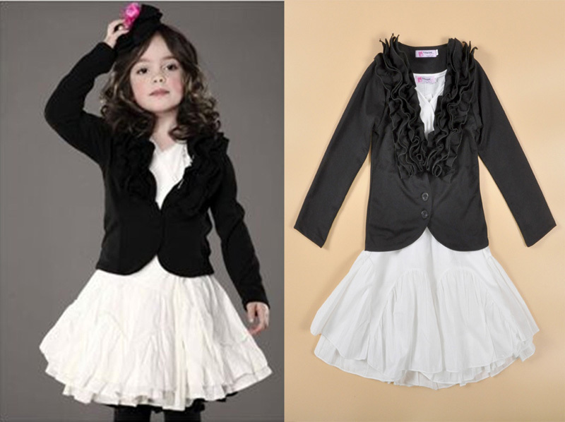 Popular Girls Dress Coat Black-Buy Cheap Girls Dress Coat Black ...