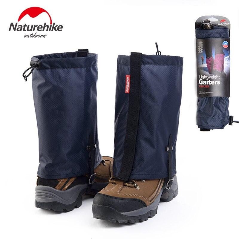 Prix pour Naturehike 1 paire Gaiters de Randonnée En Plein Air Étanche Marche Montagne Chasse Trekking Désert Neige Legging Gaiters