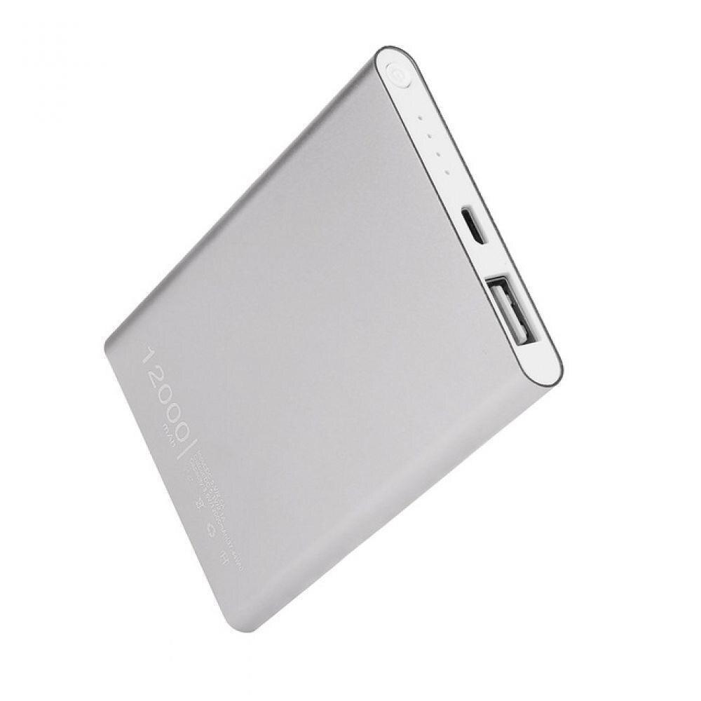 Banco de potencia 10000 mAh 18650 batería externa rápido Dual USB Powerbank cargador de teléfono móvil portátil