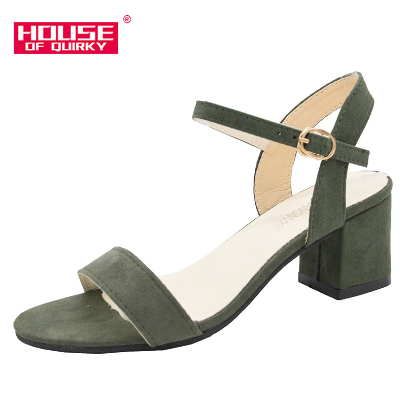 Sexy Hollow Out Women Pumps Pointed Open-toed Women Sandals Outdoor Comfortable Women Pumps Party Shoes Summer Shoes Buckles