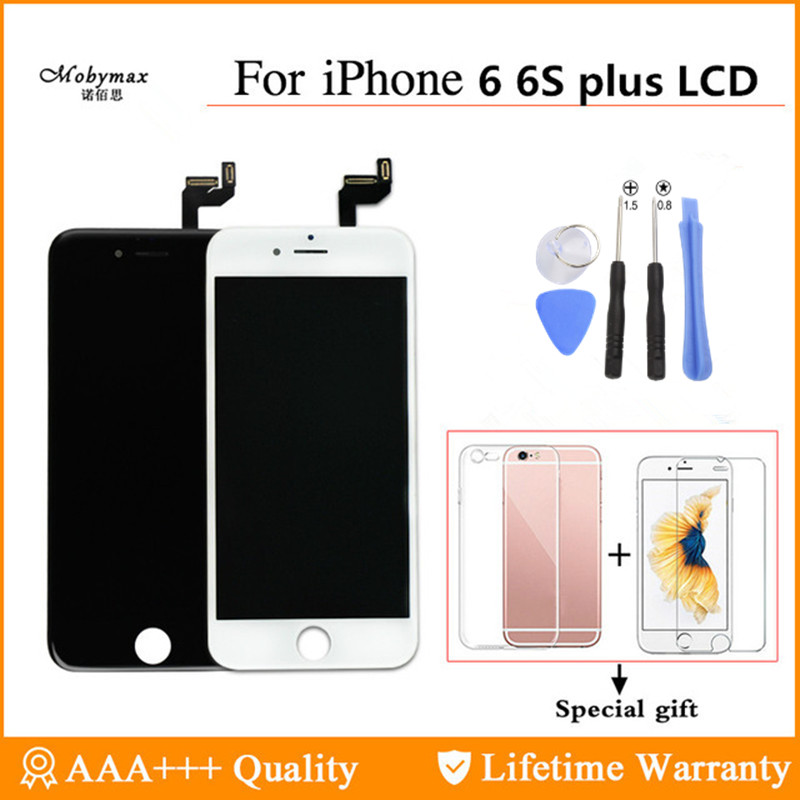 Digitizer Display Touch-Screen No-Dead-Pixel iPhone 6 Assembly 6s-Plus for LCD with 3d-Force