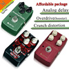 Pedals Package Sales JOYO JF 02 Drive Booster JF 39 British Distortion JF 33 Analog Delay