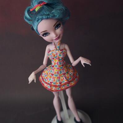 Оптовая продажа различные стили оригинальное для «Школа Монстров» Одежда куклы комплект с платьем мастер школьные принадлежности