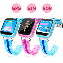 GPS Smart Watch Children Watch with WiFi 1.54 inch Touch Screen SOS Call Location Kids Tracker Safe Q750 Baby Sports Watches