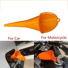 Universal Car Motorcycle Filling Funnel Forward Control Bike Transmission Crankcase Oil Filling Fill Funnel