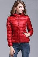 2017 Winter Jacket Women New Korean Slim Was Thin Waist Duck Down Jacket Autumn Winter Women