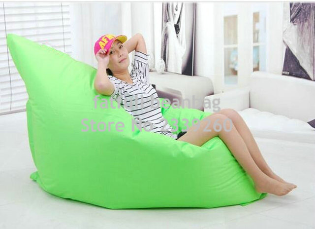 Cover Only No Filler   OUTDOOR DURABLE SEAT CUSHION, Waterproof Bean Bag  Outdoor Chairs,