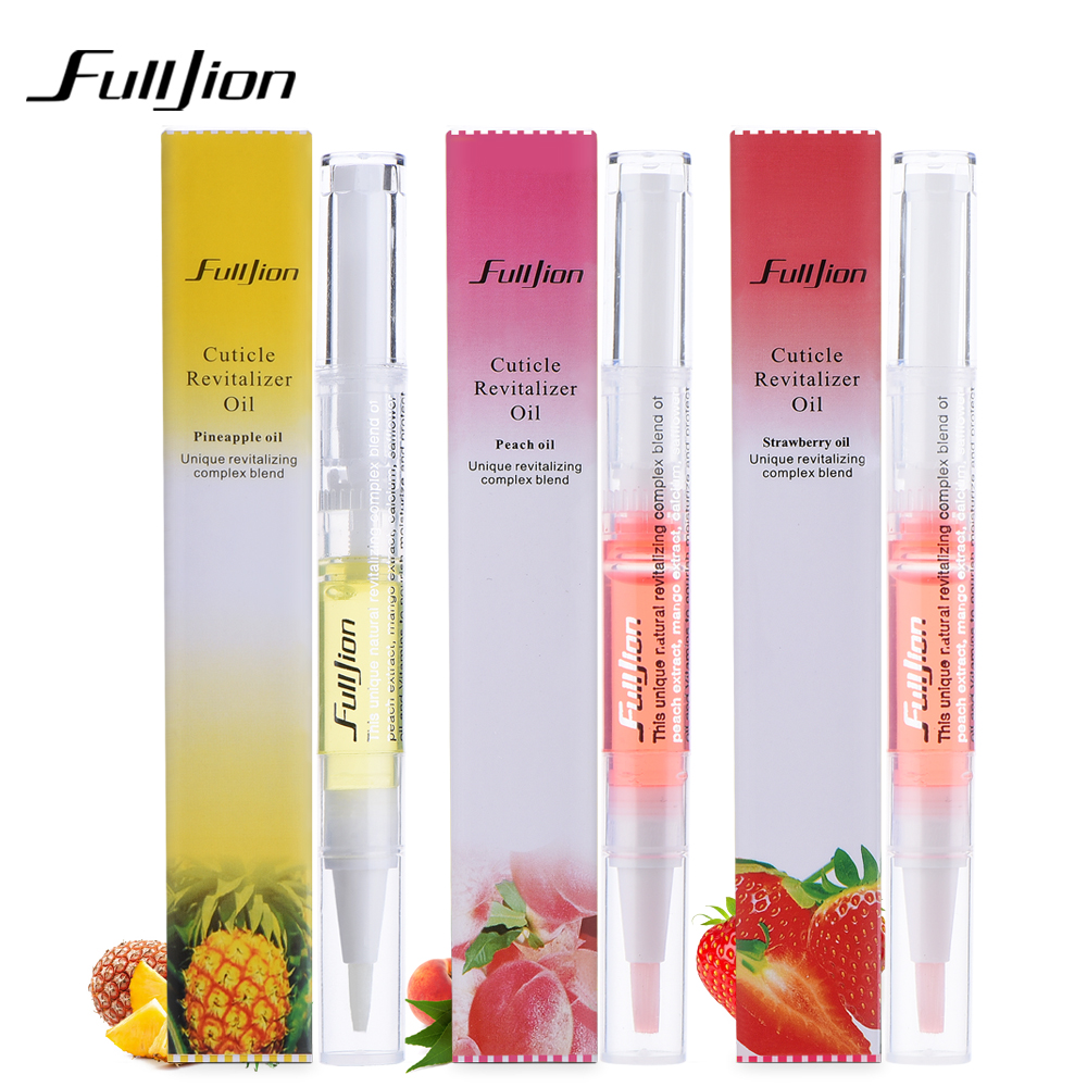 1pcs Fulljion Multi-color Professional Nail Nutrition Oil Edge Of Nail Polish Necessary Nourish Skin Care Essential Oil Pen