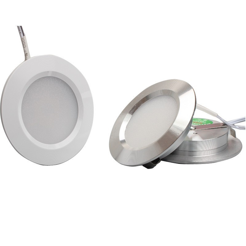 12V Low Voltage Ultra-Thin Concealed Mini LED Downlight LED Display Cabinet Light Kitchen Cabinet Light With 2M Terminal Wire