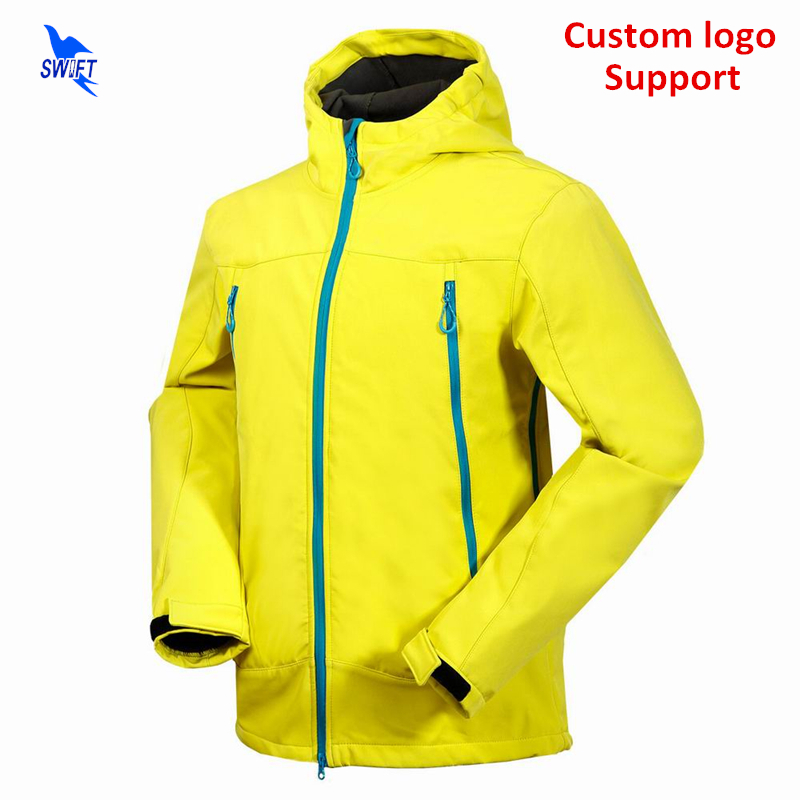 Custom Winter Thermal Fleece Hooded Softshell Jacket Men 2018 Waterproof Hiking Clothing Ski Climbing Hunting Fishing Clothes стоимость