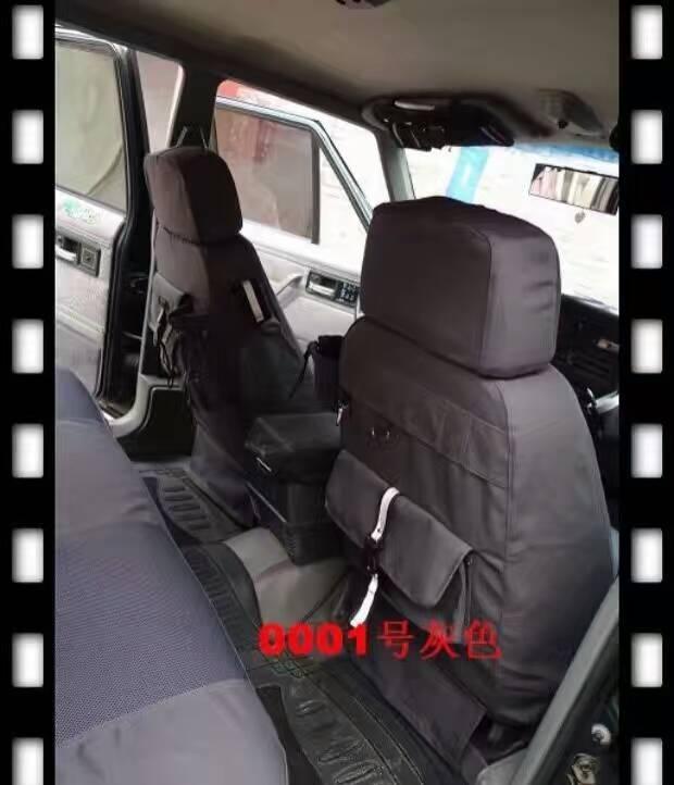 Grey Car: Grey Car Seat Covers Canvas Durable For KIA Freddy K2 K3