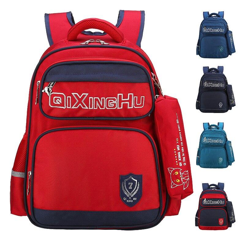 2018 New Fashion School Bags for Boys Girls Brand Children Backpack Cheap Shoulder Bag Wholesale Large Capacity Kids Schoolbag