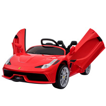 цена на Russia Only Double Door Children Electric Car Baby Toy Car Children Remote Control Car Rechargeable Kids Driving Vehicle Car