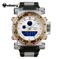 Infantry Hot Sale Auto Date Repeater Japanese Quartz Movement Watch