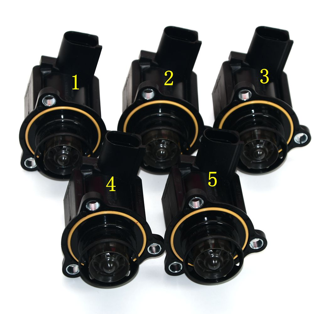 5 pcs OEM Turbo Cut off Valve Turbo disjoncteur Pour VW Golf MK6 Jetta MK5 Passat B6 GTI 2.0 t 06H145710D 06 H 145 710 D