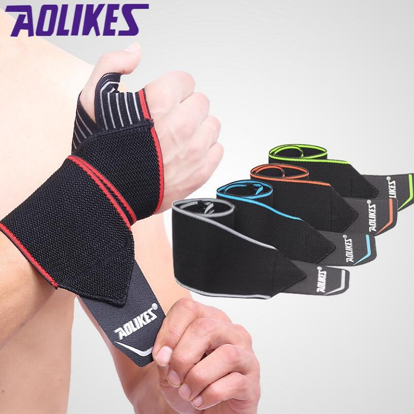 Recommend! 2pcs/lot Adjustable Sport Wristband Wrist Brace Wrap Bandage Support Band Gym Strap Safety sports wrist protector