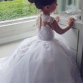 Ball Gown Princess Flower Girls Dresses  1