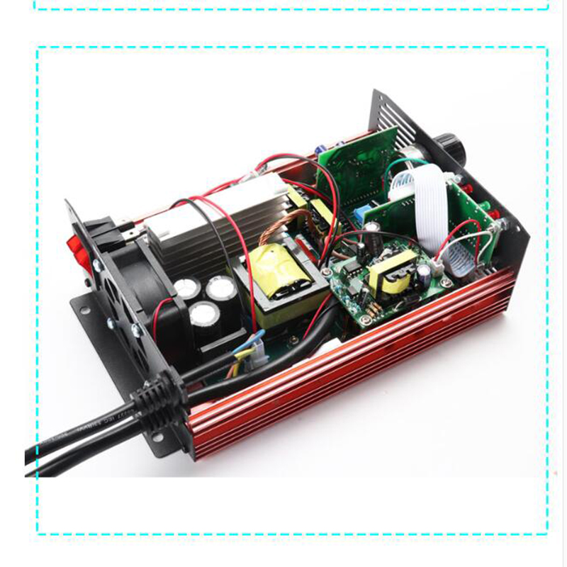 Image 3 - 72V 60V 67.2V 71.4V Li ion LiPo 48V Lifepo4 Lithium Battery Charger Smart Adjustable 2A 5A 10A 12A Fast Charge ebike 12S 20S 24SBattery Accessories & Charger Accessories   - AliExpress