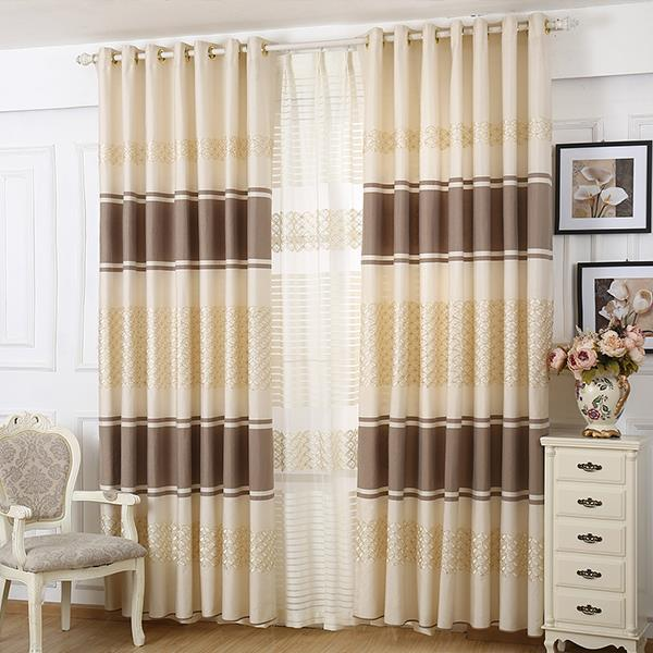 New Arrival Home Decor Jacquard Window Treatment Blackout Curtains For  Living Room Bedroom Jacquard Curtain Drapes For Windows In Curtains From  Home ...