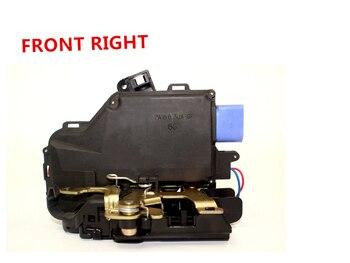 Frontal derecho para VW GOLF V JETTA cerradura de puerta CENTRAL mecanismo 2003> 2011 * NUEVO * 9 PIN 3D1837016A 3D1837016AB 3D1837016 3D1837016AP