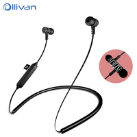OLLIVAN Newest Bluetooth Earphones Support TF Card Sport Headset Bass Stereo Music Earphones With Mic Earbud