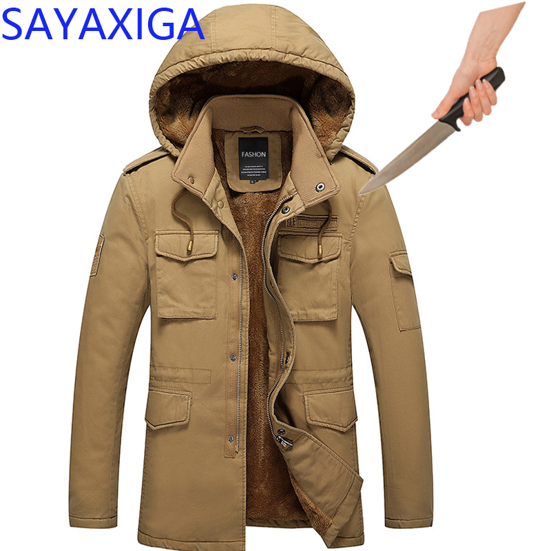 Self Defense Security Anti-cut Anti-Stab Men Jackets Stealth Defense Police Personal Military outfit Tactics hooded outwear XXXX