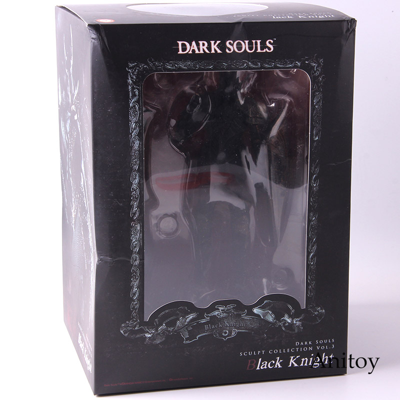 """Dark Souls Black Knight DXF 7.9/"""" Action Figure Toy Collection Sculpt in Box"""