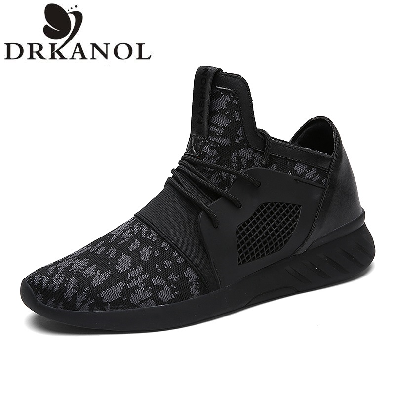 ФОТО 2017 Spring Fashion Men Casual Shoes Breathable Mesh Shoes Lace Mens Trainers Casual Shoes Masculino Deportivas Mujer