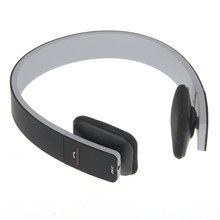 EDR Bluetooth Auricular inalámbrico de Auriculares para Ordenador Portátil Del Auricular Inalámbrico con Micrófono Negro Soporta Música Auriculares de PC