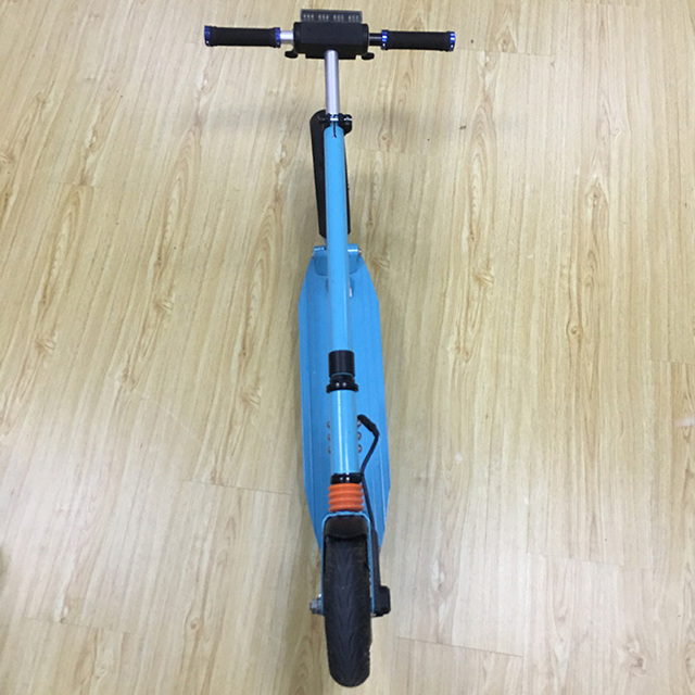 Foldable cheap cost effective motorized electric goped skateboard e bike  250W hub motor hover wheel-in Self Balance Scooters from Sports &