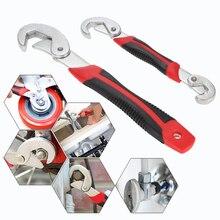 2 unids Multitul Llave de Torsión Llave Universal Ajustable 9-32mm Llave Kit de Herramientas de Mano Set Snap y agarre Llave Conjunto AD1029
