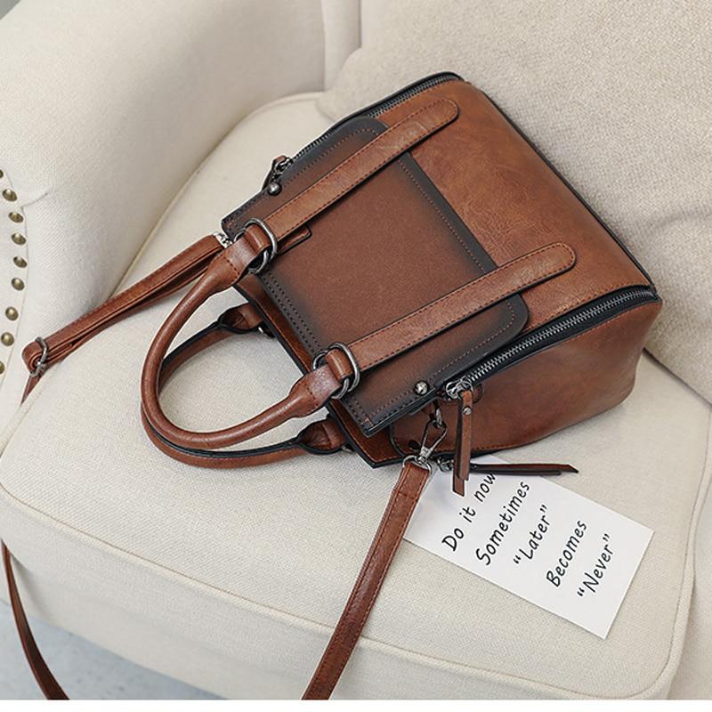 5a77116ccba6 LYKANEFU Brand Retro Women Bag Tote Women s Shoulder Bags Women Handbag  Designer High Quality Female Bag Lady Purse-in Shoulder Bags from Luggage    Bags on ...