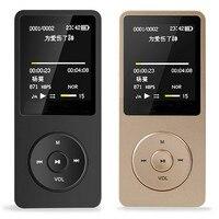 8 GB Mini MP3 Music Player Cho Thể Thao Chạy LCD Màu Hiển Thị Ghi Âm Dài Chức Năng FM Chờ Siêu Dài Âm Nhạc máy nghe nhạc