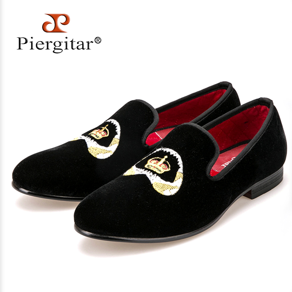 Special embroidery Plus Size Men Velvet Shoes Men Loafers Smoking Slipper Men Flats Size US 4-14 Free shipping flower lattice velvet fabric men shoes men smoking slipper prom and banquet male loafers men flats size us 4 17 free shipping