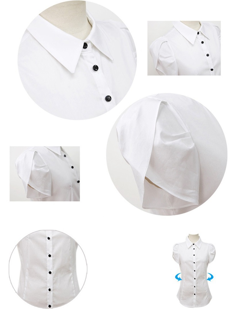 HTB1ZpYDKFXXXXavXpXXq6xXFXXXU - High Quality Fashion Womens short-Sleeve Chiffon Shirt
