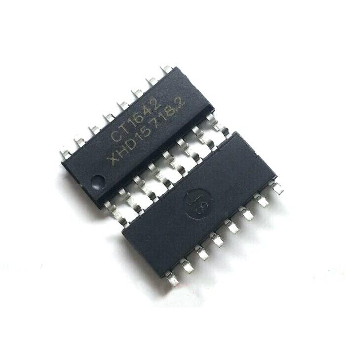 5PCS TM1651 SOP-16 7 segment 4 LED digital tube driver chip Good Quality