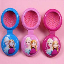 Сорт-расческа анна эльза волосами принцесса уходу зеркало по многофункциональный за путешествия