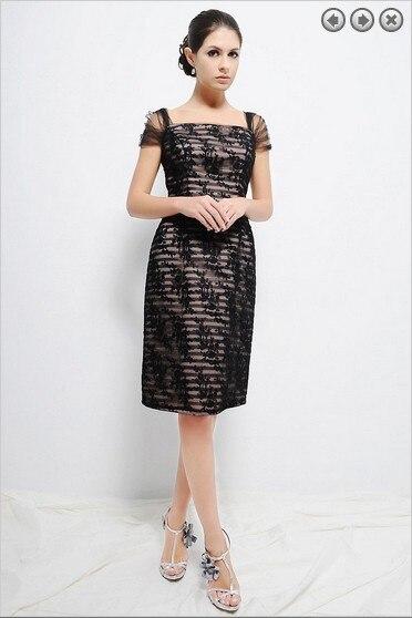 2016 New Design Cap Sleeve Vestidos De Novia Sexy Knee Length Custom Mother Of The Bride Dresses Parfumes Women Free Shipping