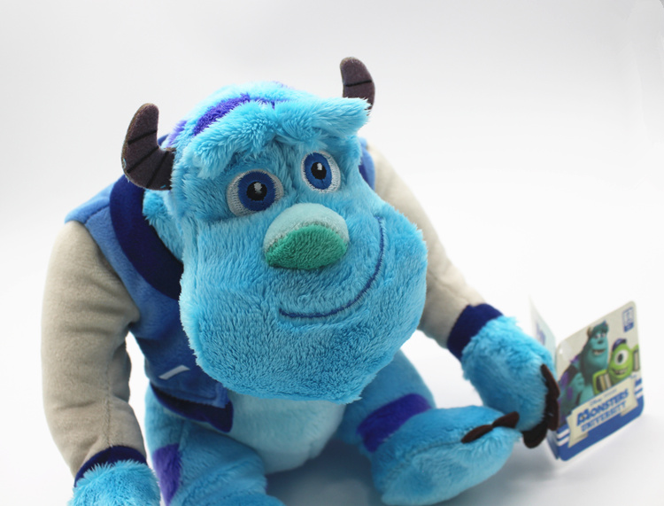Image 2 - 1piece 22cm Monsters University Sulley Sullivan Plush Toy Stuffed Animals Baby Kids soft Toy for Children Christmas GiftsMovies & TV   -
