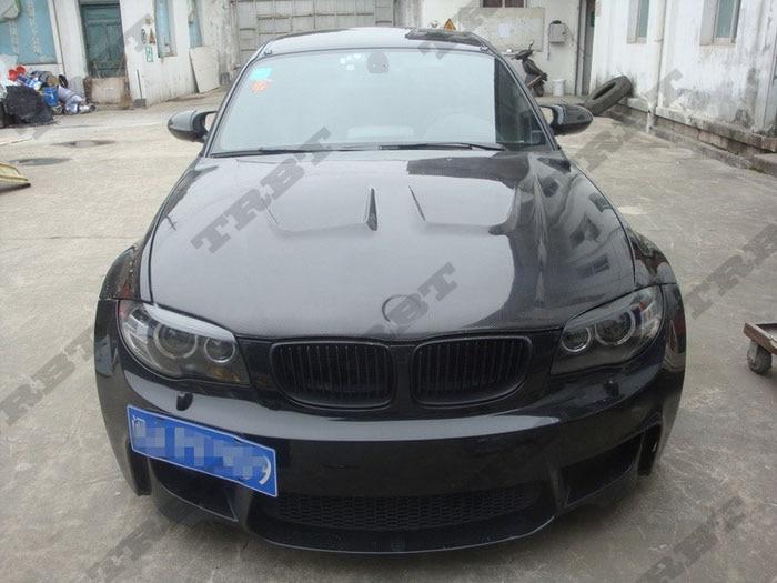 2011-2012 BMW 1M Carbon Fiber Ap Style Hood3