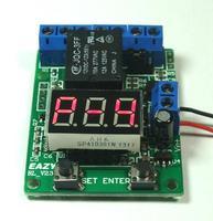 Freies Verschiffen! 1 stück 12 V Multifunktions zeitrelais bord timer/zähler/countdown trigger/voltmeter erkennung control