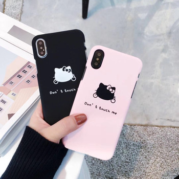 JSPYL Fashion Cute Hello Kitty Case Cover For iPhone 7 8 Plus 6 6s Plus Capa PC Hard Phone Bag Cases For iPhone X Coque Fundas etui iphone 7 nike allegro