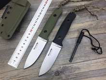 BF-710 Tactical Knife,Fox Fixed Blade Knives,D2 Blade G10 Handle EDC Outdoor Straight Knives Tools,Survival Hunting Knife Tools