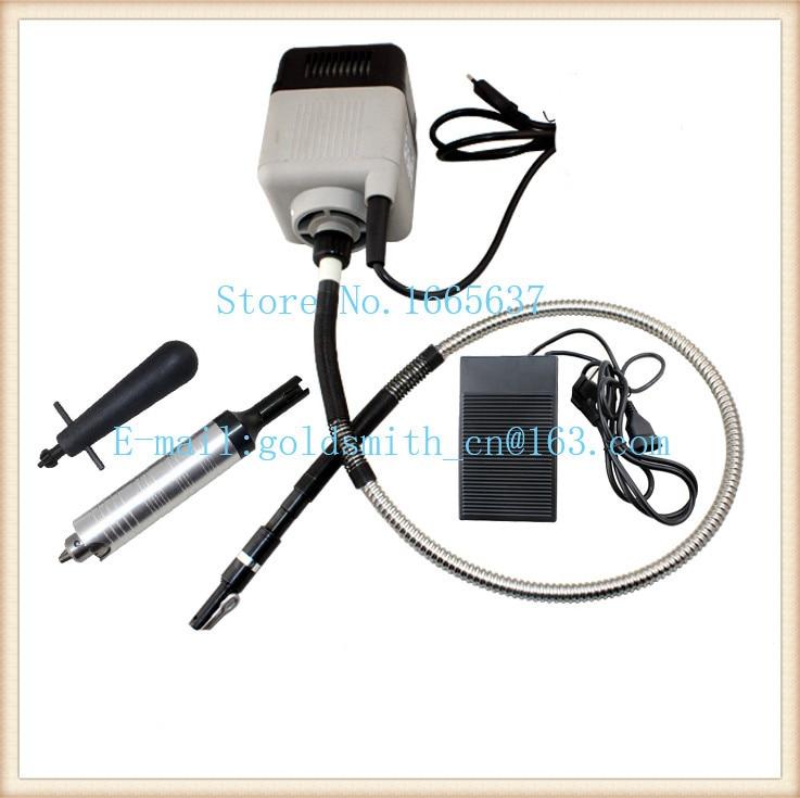 Moteur de polissage carré de taille Italin, moteur d'arbre Flexible d'outils dentaires de bijoux, Machine Flexible d'arbre tournant, outils de laboratoire dentaire